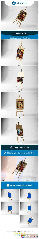 Art Canvas in studio 23091683