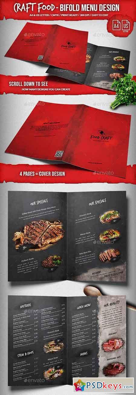 Craft Food Menu Mega Bundle - A4 & US Letter 21997440