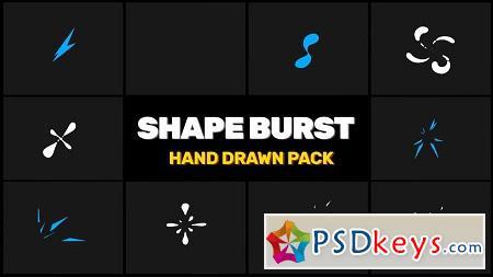 MotionArray Shape Burst Pack After Effects Templates 155241
