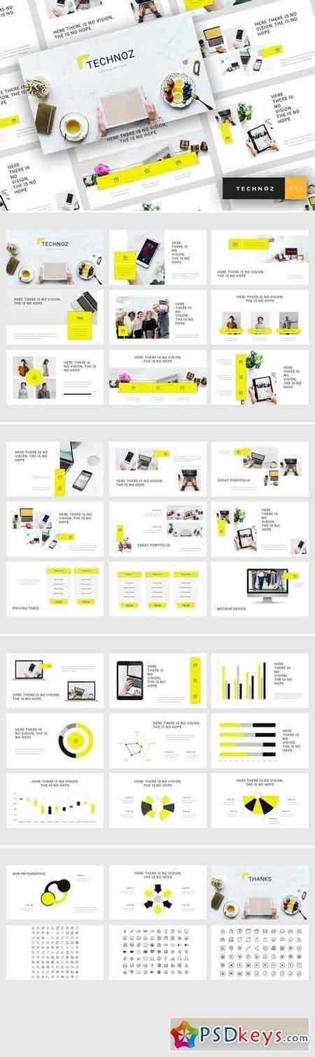 Technoz - Google Slides Template 3322929