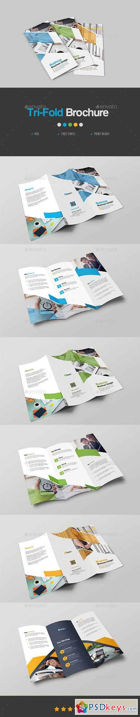 Corporate Trifold Brochure 23074402