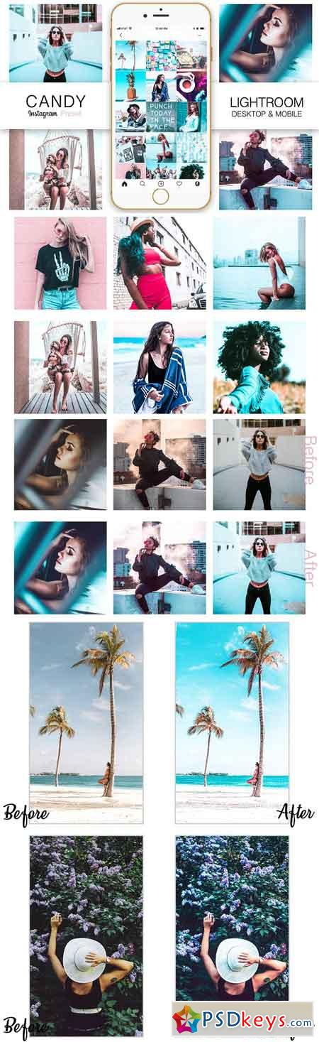 Teal Instagram Blogger Presets 3285600