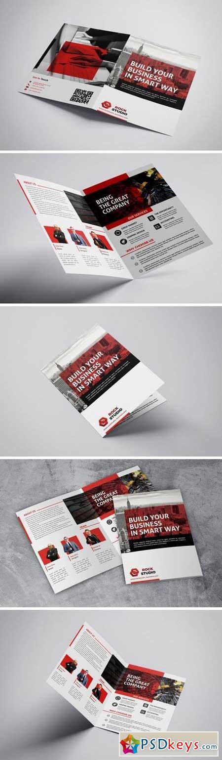 Build Business - Bifold Brochure
