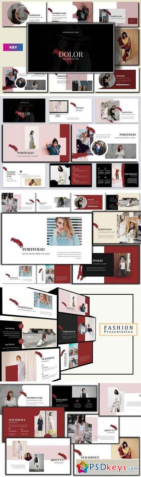 Dolor Stylish Keynote Template