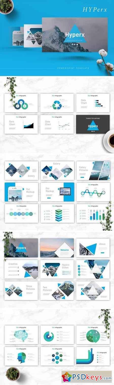 HYPERX - Powerpoint, Keynote, Google Sliders Templates