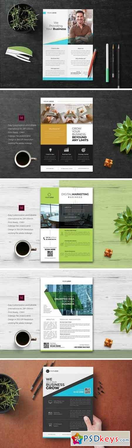 Business Flyer Template Bundle