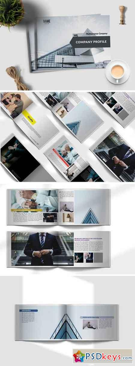 Corporate Brochure Multipurpose Company