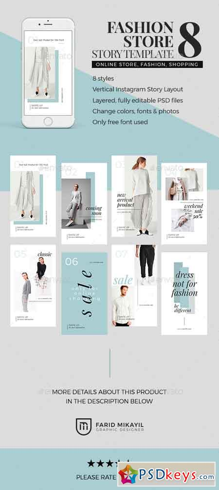 Fashion Store Story Template 23068403