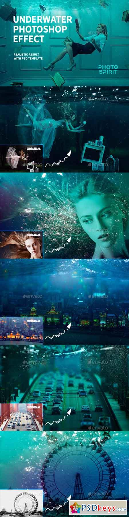 Underwater Photoshop Effect 23023459