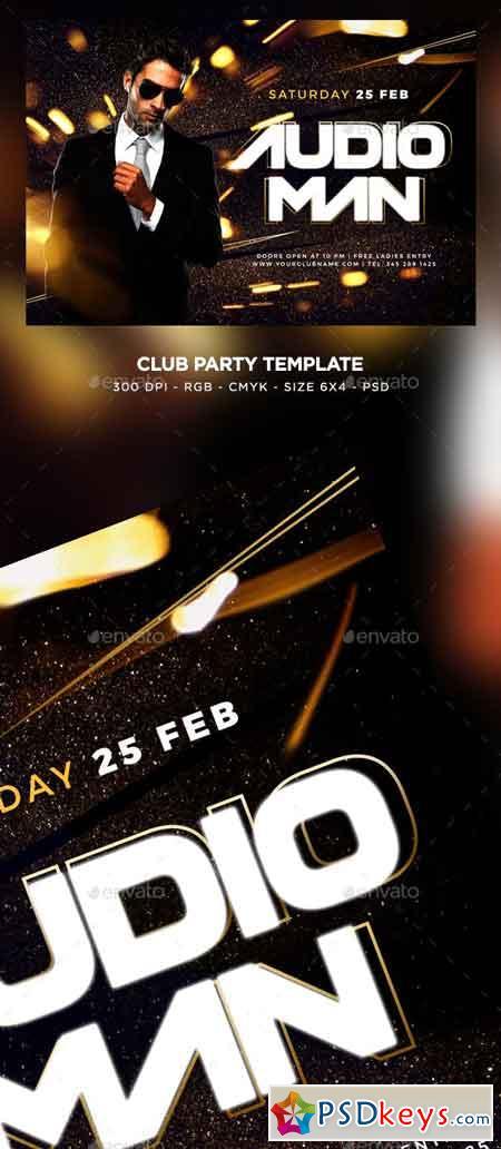 Club Party Flyer 23065655