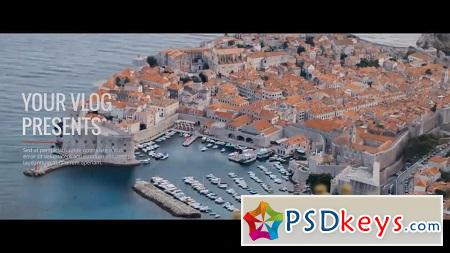 MotionArray Travel Memories Vlog After Effects Templates 156874