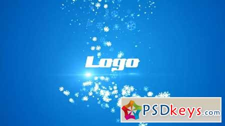 Snowflakes Logo Reveal After Effects Templates 157015