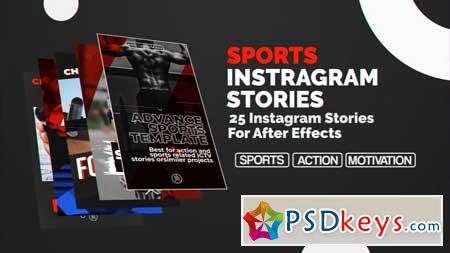 Sports Instagram Stories After Effects Templates 157017