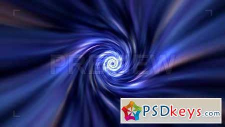 Blue Energy Tunnel Looping Background 155695