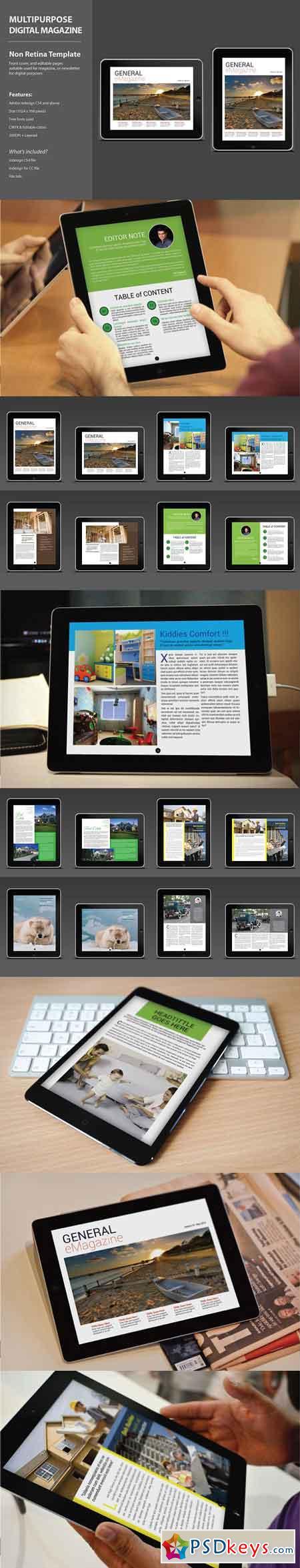 Multipurpose Digital Magazine 3271604