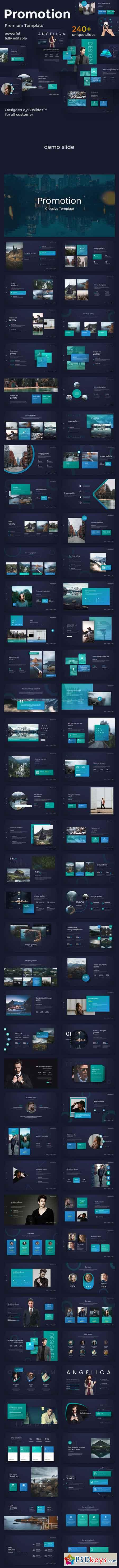 Promotion Creative Powerpoint Template 23059094
