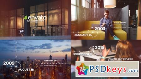 Modern Timeline 21404356 After Effects Template