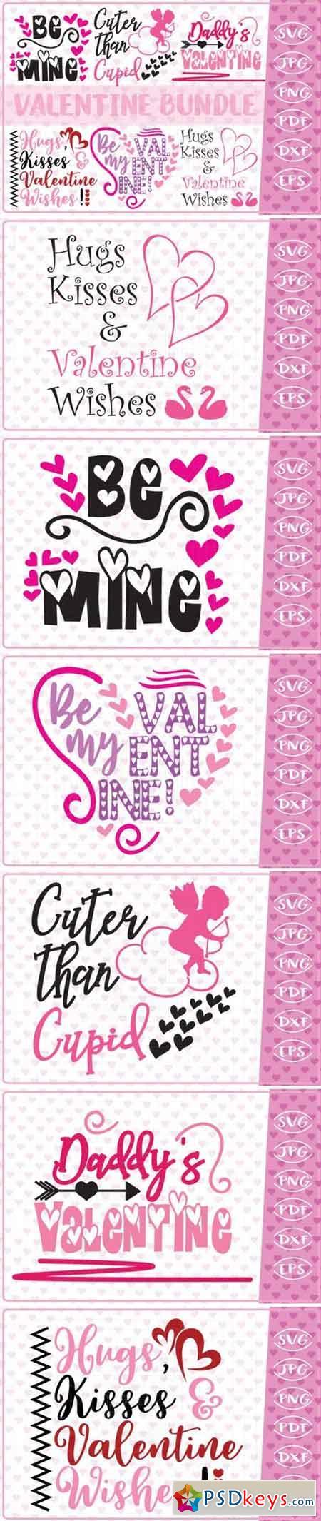 Valentine SVG Bundle 825686