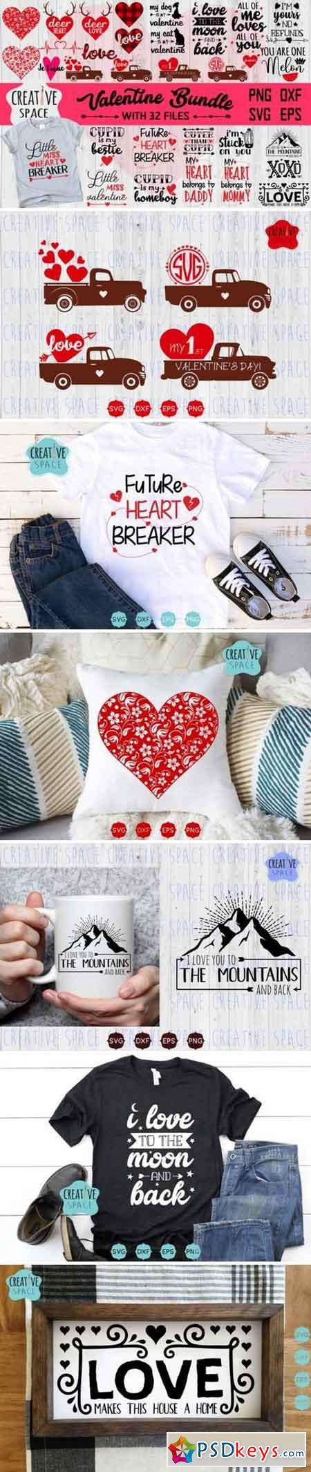 Valentine's Svg Bundle 837220