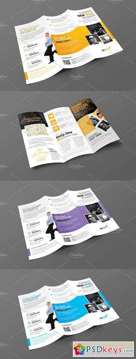 Corporate Business Tri-Fold Brochure 3277379