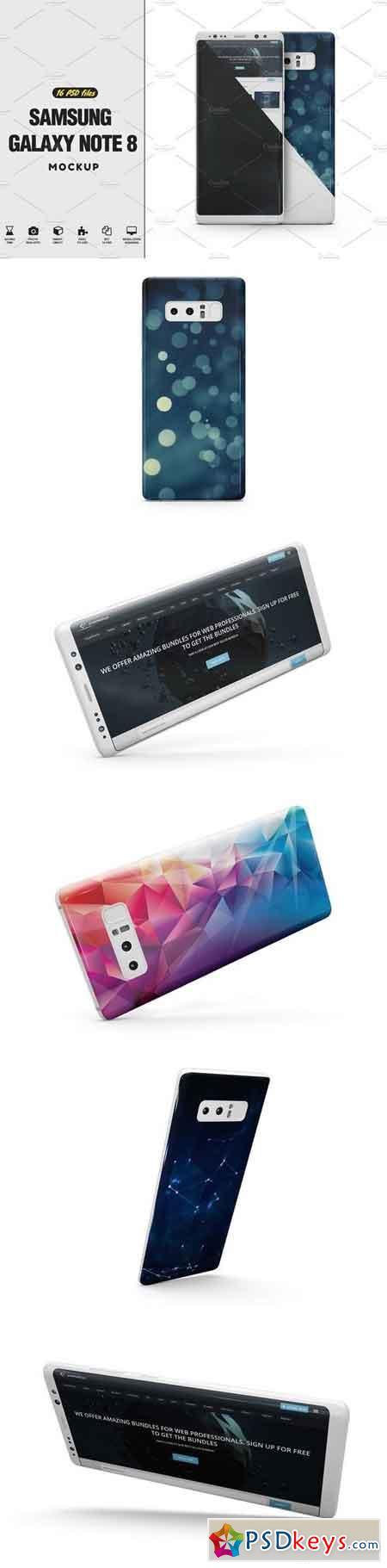 Samsung Galaxy Note 8 Vol.3 Mockup 2133377