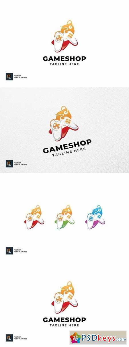 Game Shop - Logo Template