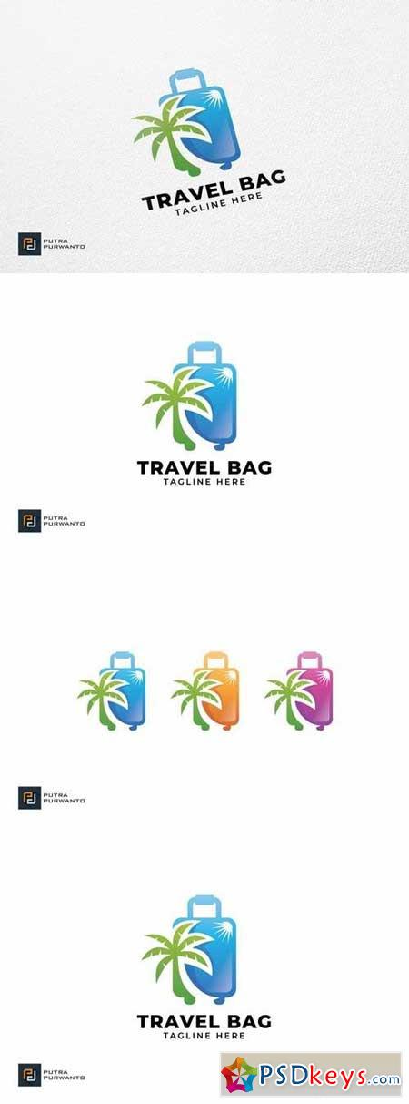 Travel Bag - Logo Template