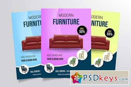 Modern Furniture Flyer Template 3331157