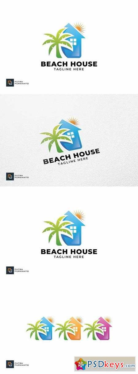 Beach House - Logo Template