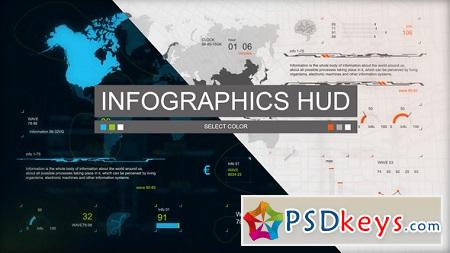 Infographics HUD Set 3 22173158 After Effects Template Download