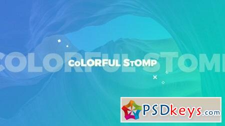 Colorful Stomp 22939283 After Effects Template Download