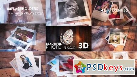 Beautiful Photo Slideshow 3D 20572532 After Effects Project