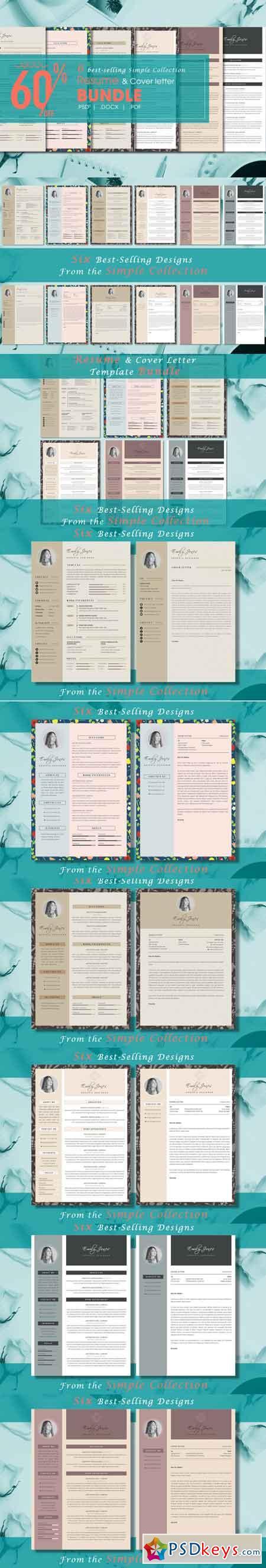 Resume CV Simple Bundle 3519057