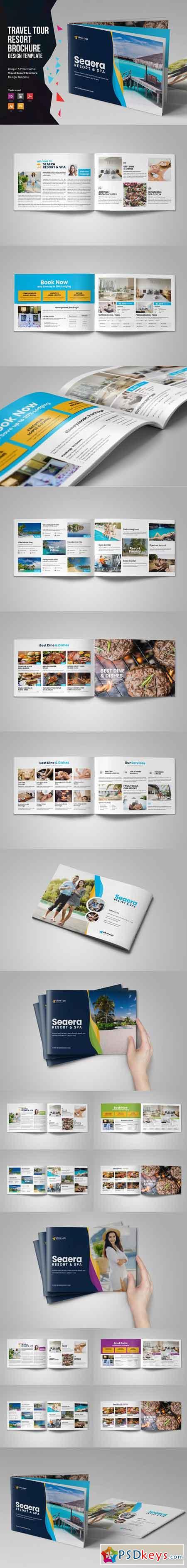 Travel Resort Brochure Design v2 3321185