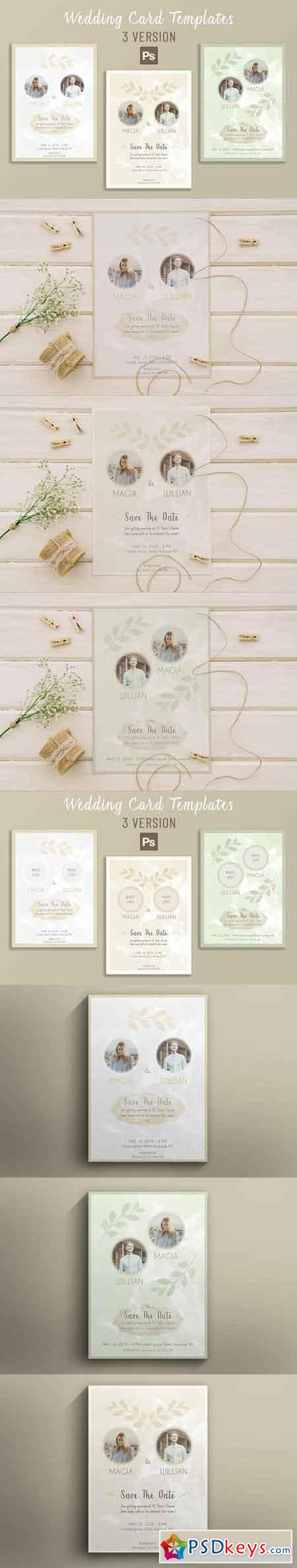 Wedding Card Template 2795019