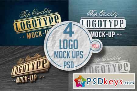 Logo Mock-up Pack Vol 1 3519083