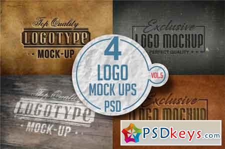 Logo Mock-up Pack Vol.5 3519164