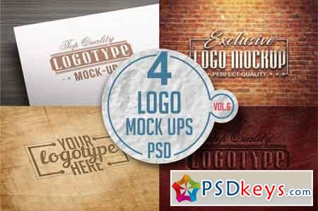 Logo Mock-up Pack Vol.6 3519175
