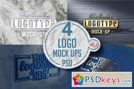 Logo Mock-up Pack Vol.2 3519093