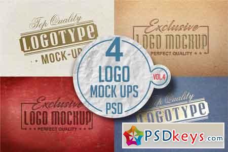 Logo Mock-up Pack Vol.3 3519147
