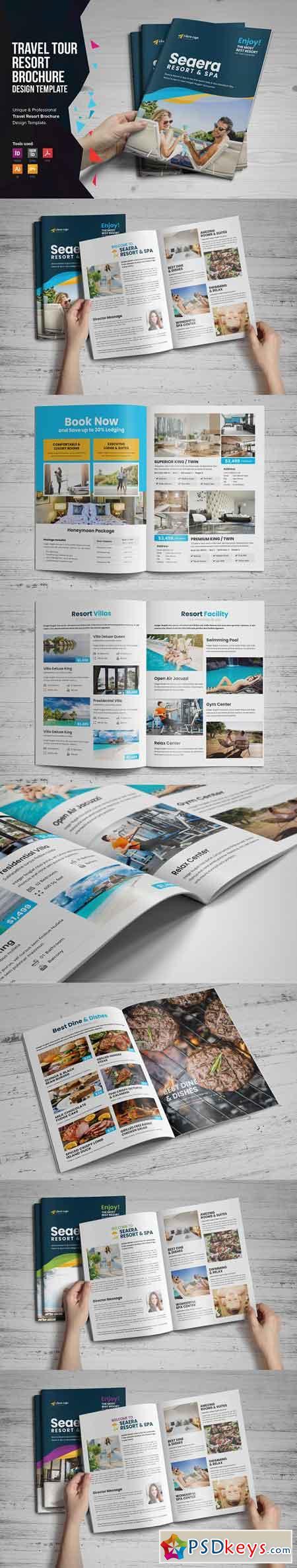 Travel Resort Brochure Design v1 3319197