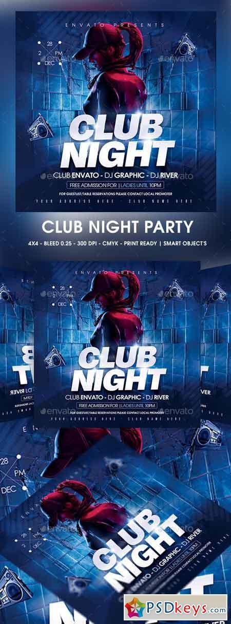 Club Night Flyer 23068222