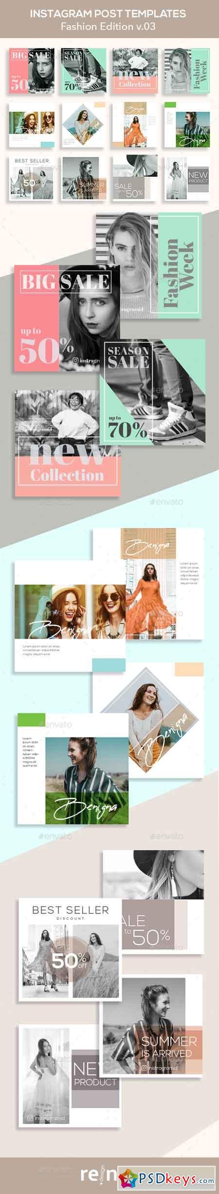 Fashion Instagram Posts v 03 23068793