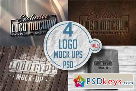Logo Mock-up Pack Vol.9 3332018