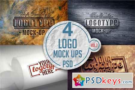 Logo Mock-up Pack Vol.7 3331602