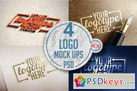 Logo Mock-up Pack Vol.10 3332132