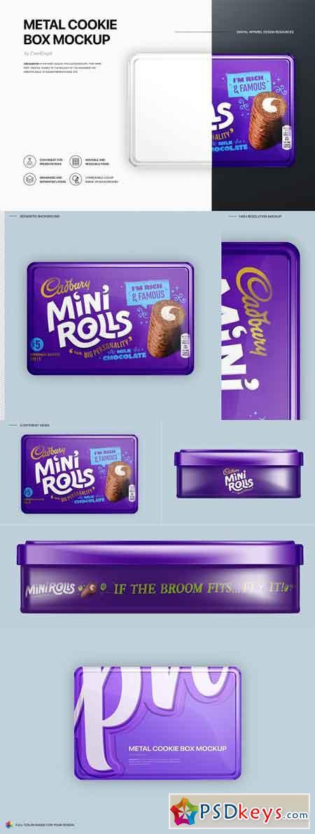Cookie Box Mockups 3192987