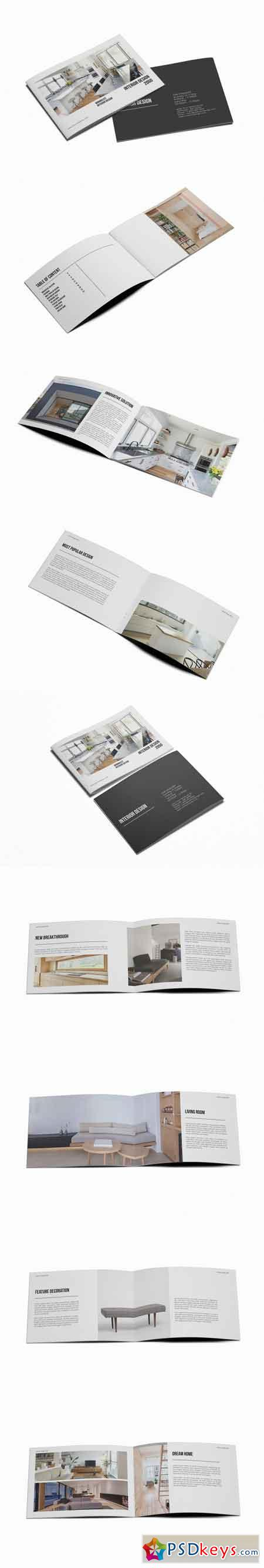 A5 Interior Design Brochure Catalog 3518575