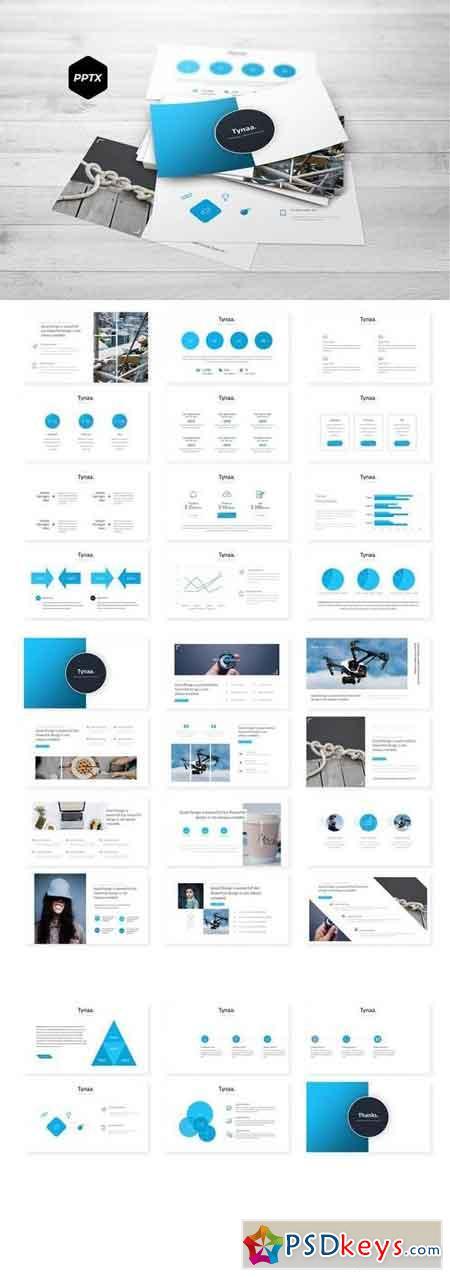 Tynaa - Powerpoint, Keynote, Google Sliders Templates