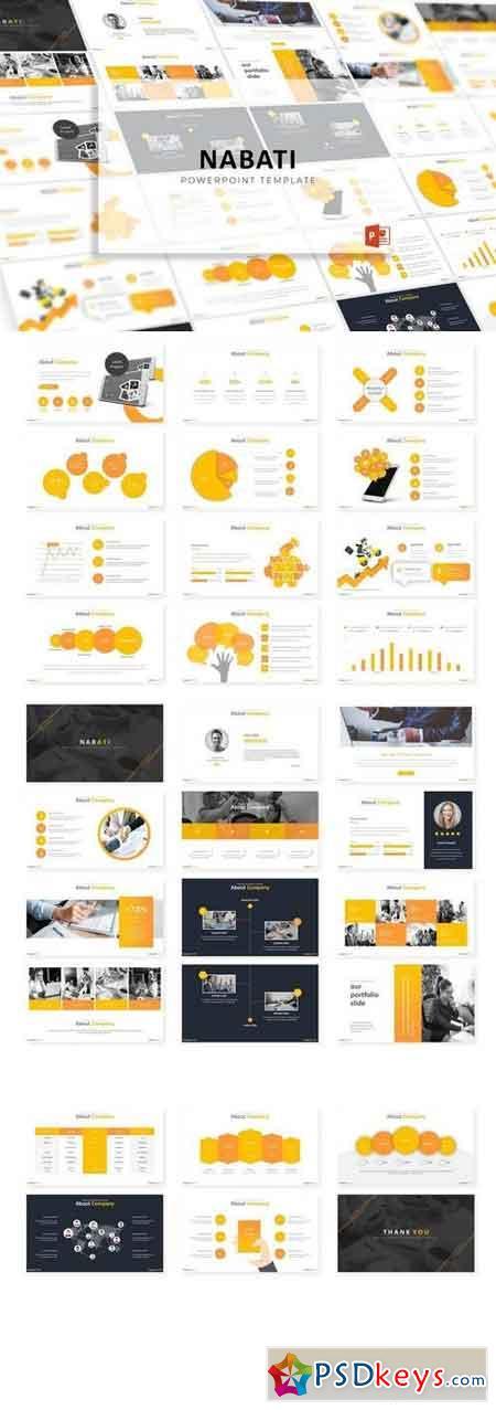 Nabati - Powerpoint, Keynote, Google Sliders Templates